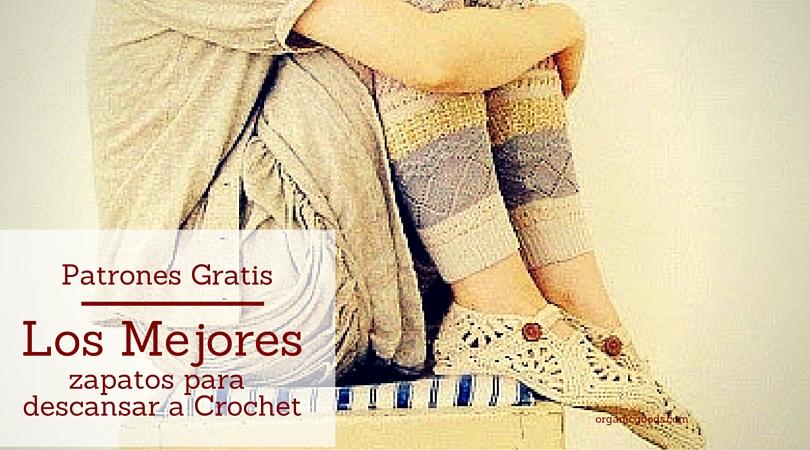 Los mejores zapatos a crochet para descansar patrones gratis ctejidas - Los mejores colchones para descansar ...