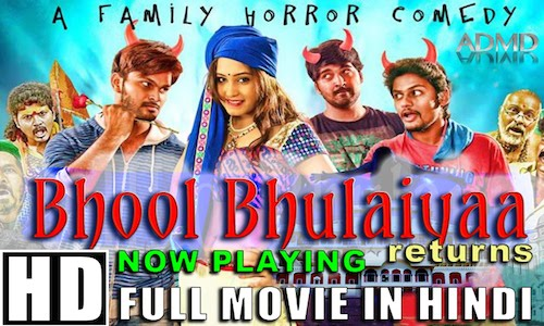 Bhool Bhulaiyaa Returns 2016 Hindi Dubbed 480p HDRip 300mb