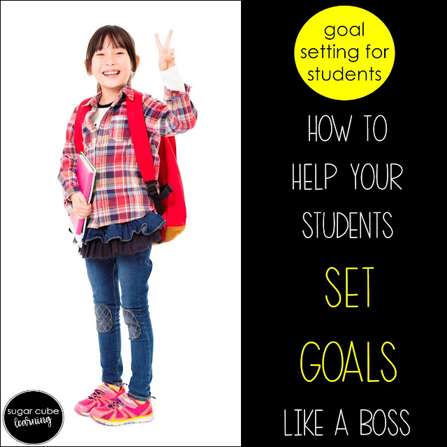 Goal Setting for Students Monthly Goal Setting and Reflection Digital Resource for Google Classroom