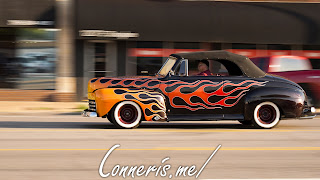 Classic Hot Rod flames