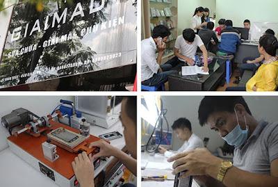 Thay mới mặt kính Oppo F1s chính hãng giá rẻ tại Thành Hưng mobile