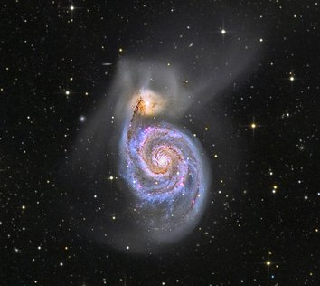 nasa whirlpool galaxy - photo #13