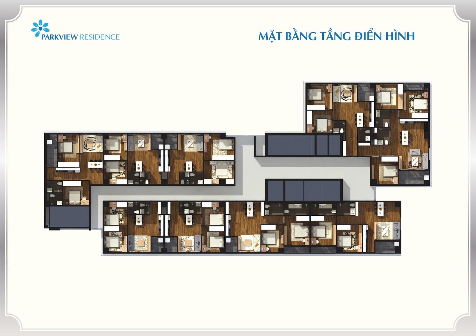 Thiết kế căn hộ đa dạng