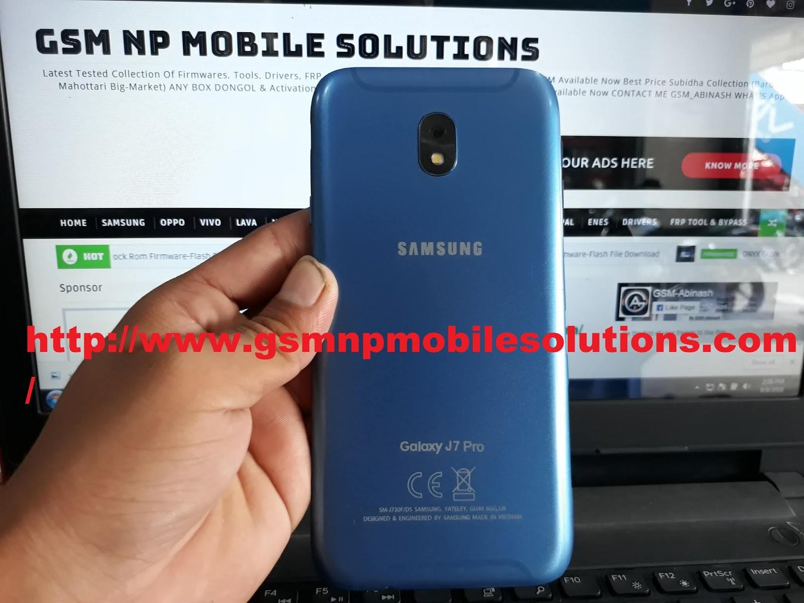 MT6580 Samsung Galaxy J7 Pro SM-J730F CAK V03 Clone Official
