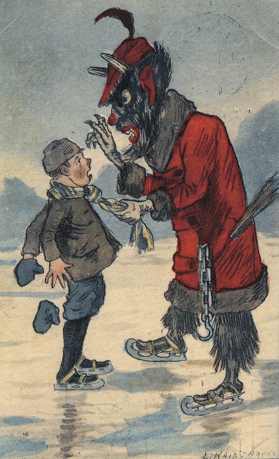 Vermont Dead Line KRAMPUS The Christmas Devil