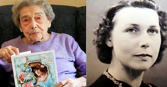 106χρονη λέει πως το μυστικό της μακροζωίας της είναι ότι έζησε μια ζωή χωρίς άντρες