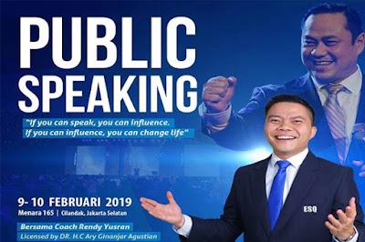 Pelatihan Public Speaker Terbaik di Jakarta 0821-1177-8165
