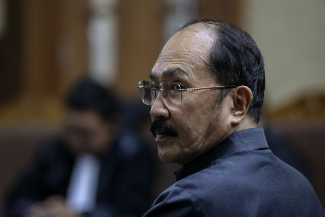 Fredrich Sumpahi Jaksa Karena Permintaan Izin Lebaran di Rumah Ditolak Hakim