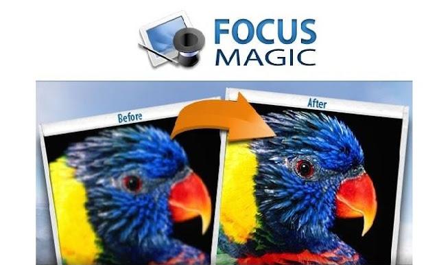 برنامج focus magic توضيح الصور المشوشة وتنقيتها