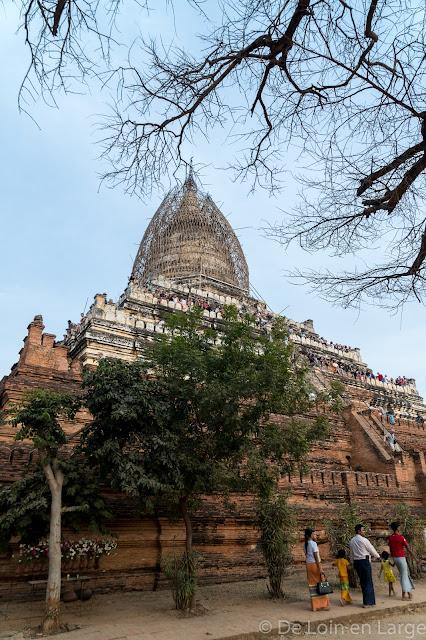 Shwe-San-Daw Pagoda - Bagan - Myanmar - Birmanie