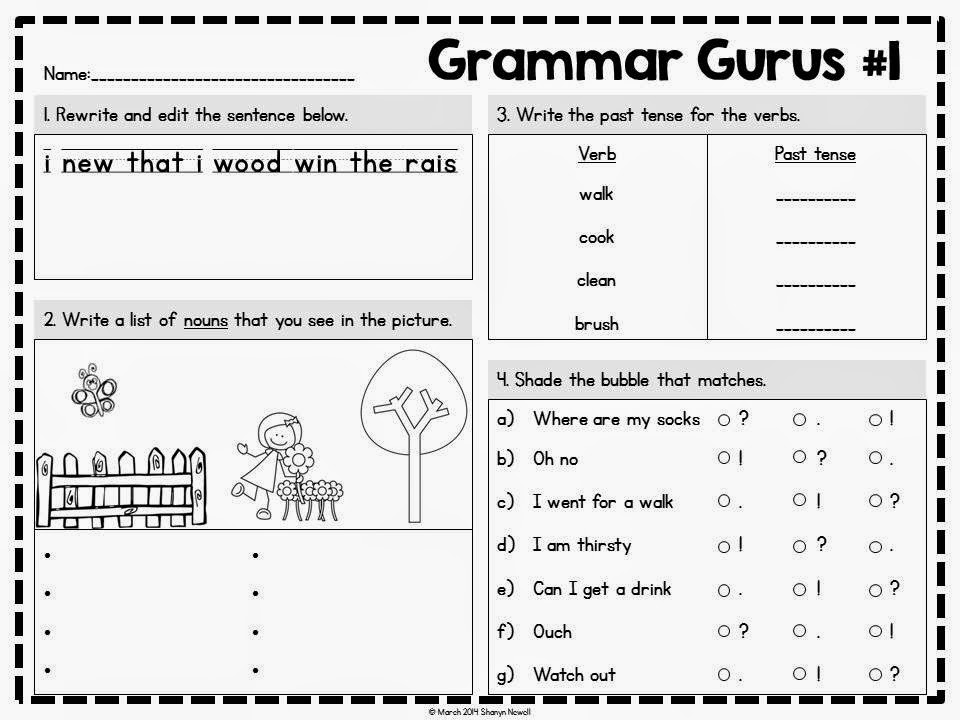 http://www.teacherspayteachers.com/Product/Grammar-Gurus-1365332