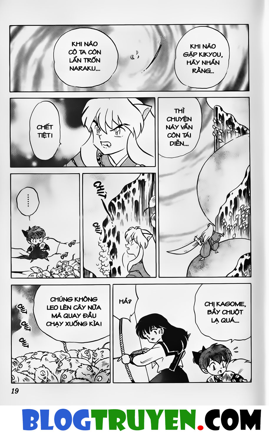 Inuyasha vol 34.1 trang 17
