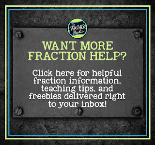 Fraction freebies, fraction lessons, fraction printables, fraction help, teaching fractions