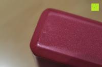Fläche: Yogablock »Damodar« - flach- erhältlich in den Trendfarben: Erdbraun Moosgrün Bordeaux Currygelb Lila - der ideale Yogaklotz aus gehärteten Schaumstoff (Hartschaum)- REACH geprüft (keine Schadstoffe) der Yoga Brick ist ein praktisches Hilfsmittel (Yogazubehör) für eine Vielzahl an Yogaübungen / Asanas : Gesamtgewicht liegt bei ca.180g (schön leicht) / Größe 28cm x 20cm x 5cm