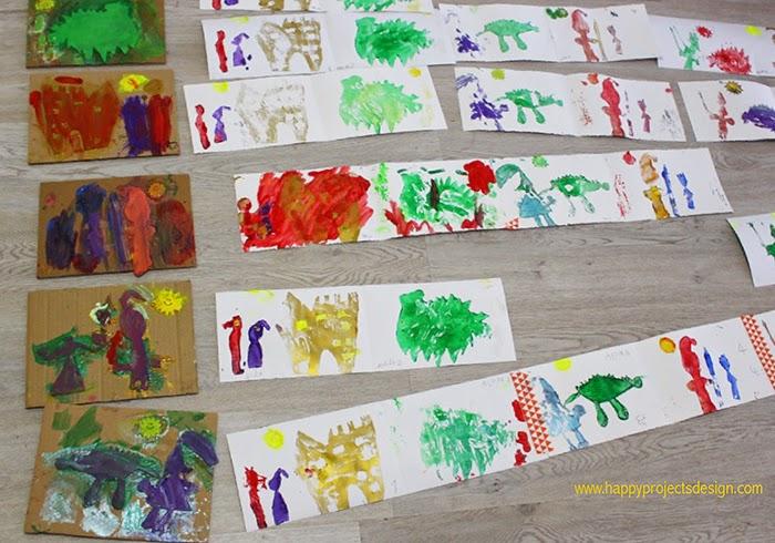Sant Jordi: Libro Acordeón Estampado
