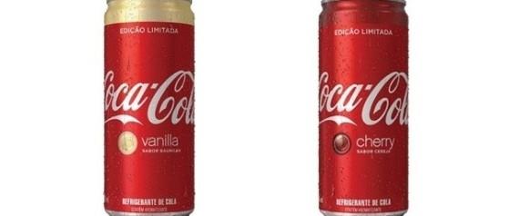 A Coca-Cola Femsa lançou nesta quarta-feira (29) duas versões limitadas de  seu principal refrigerante. A Coca-Cola Cherry (cereja) e a Coca-Cola  Vanilla ... d64a7aee92