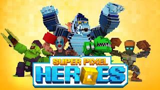 Super Pixel Heroes Mod Apk download