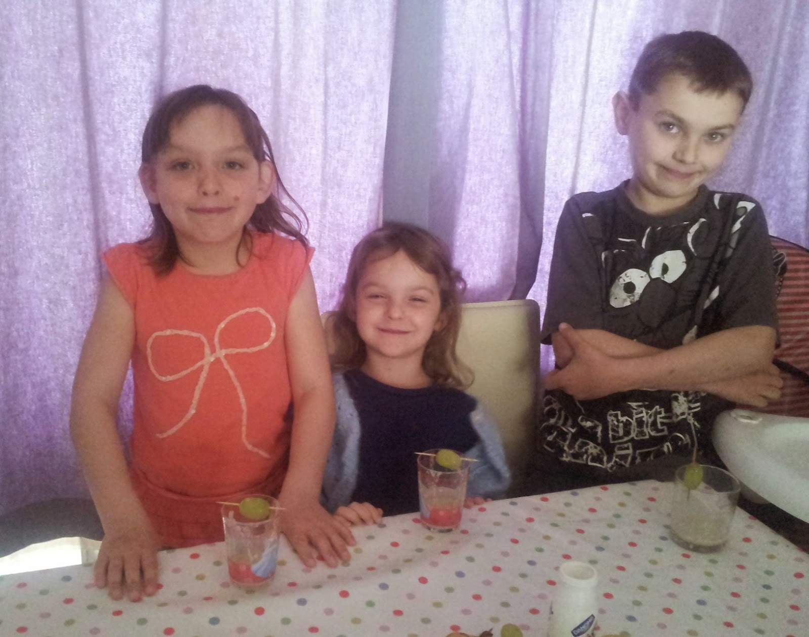 , Making Fruit Smoothies with kids
