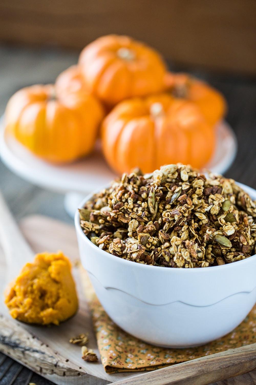 Vegan Pumpkin Spice Granola image