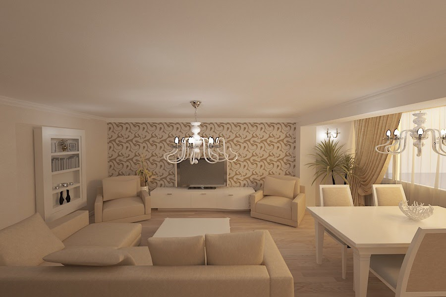 Design interior - apartamente - design - interior - apartament - modern