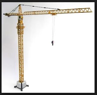 Bagian-bagian alat berat tower crane dan fungsinya