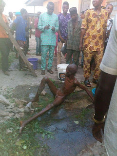 Mysterious  Boy Seen in Middle of a  Concrete Wall in Ondo State [Photo ] 6