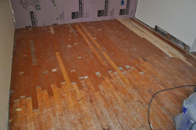 The Stucco Farmhouse Maple Hardwood Floors