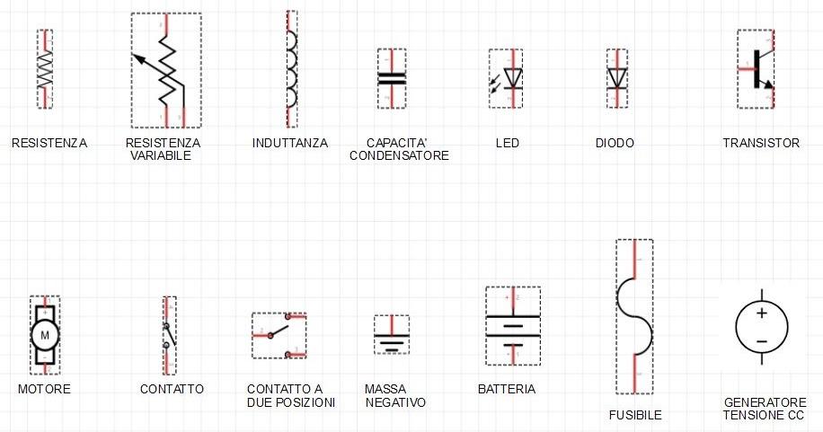 Schemi Elettrici Arduino : Meccatronica simboli e schemi elettrici