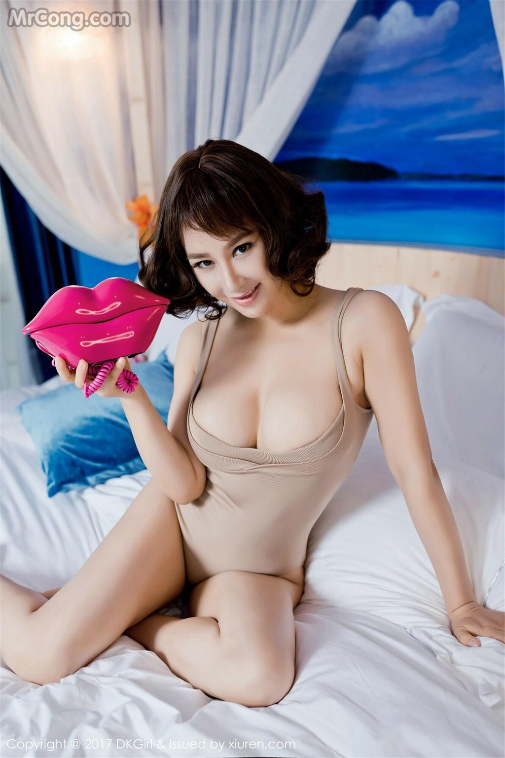 DKGirl Vol.021: Model Anna Jin (安娜 金) (56 photos)
