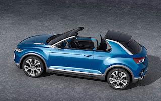 Volkswagen T-Roc Convertible Concept Side