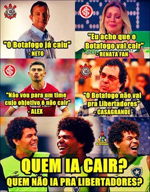 Botafogo cala a boca de comentaristas falastrões