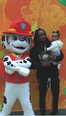 Adorable photos of Wale & his beautiful daughter at Nickelodeon amusement park