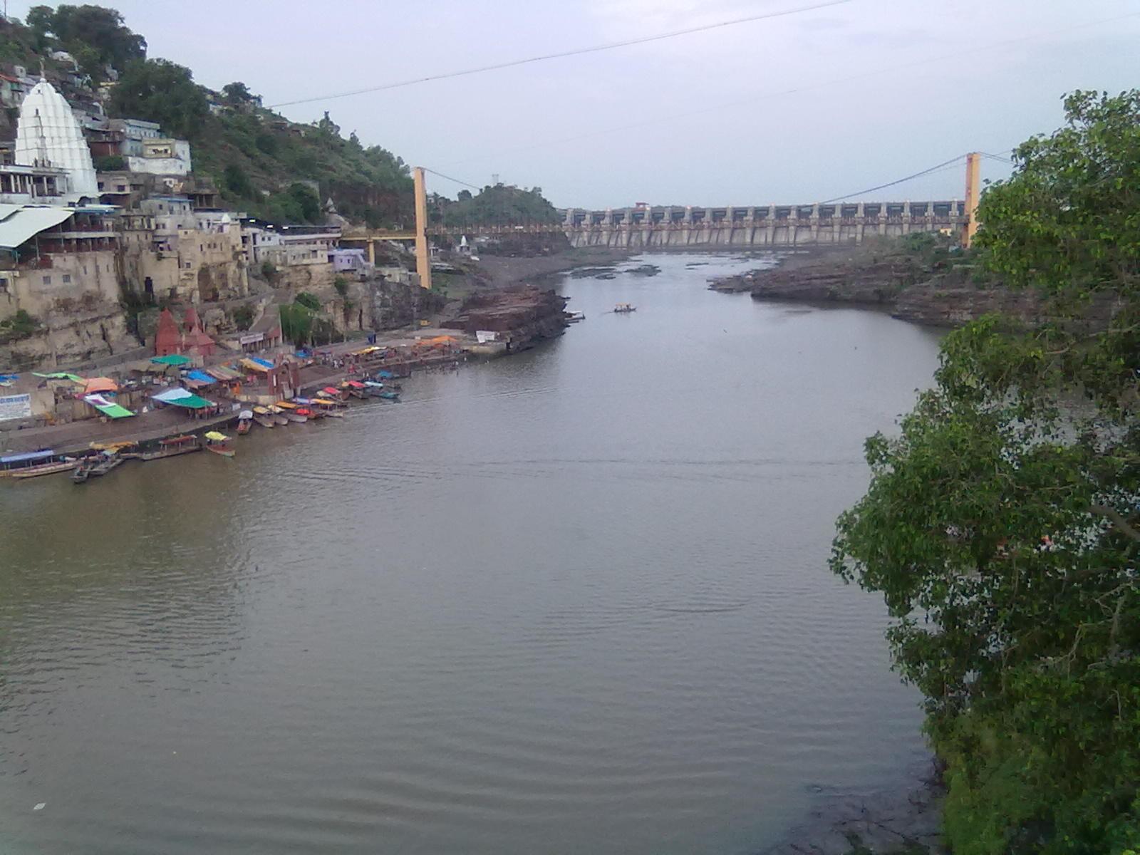 MANOJ SHETTY NAKRE Omkareshwar Jyothirlinga near Narmada