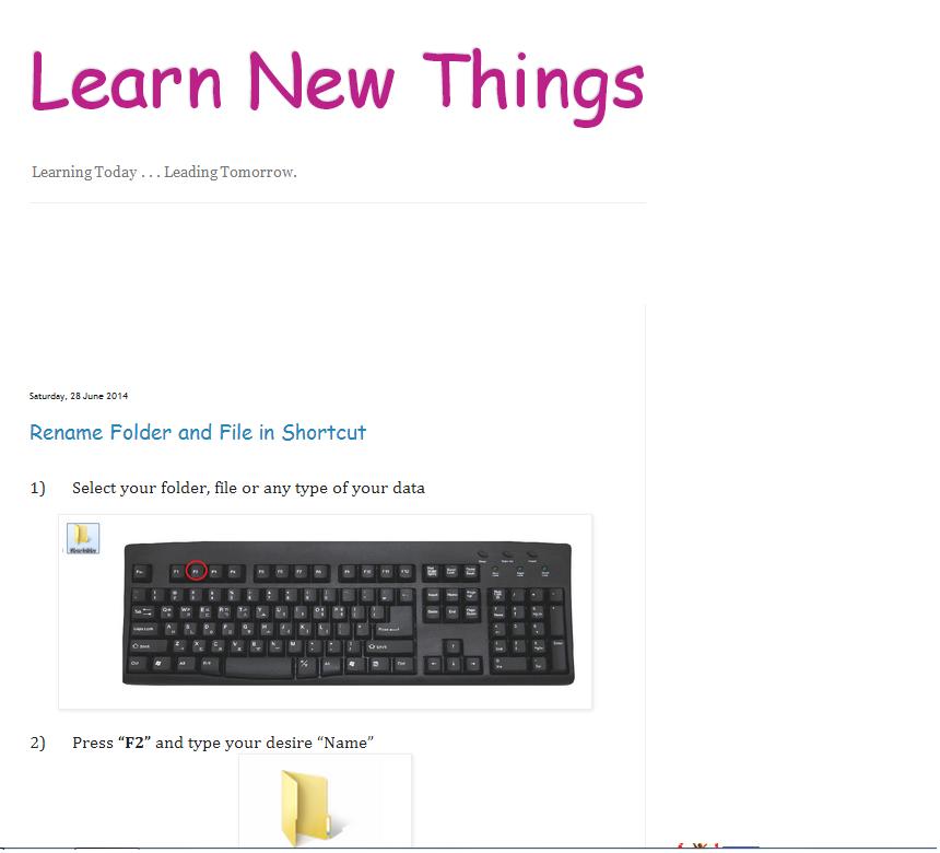 Learn New Things: June 2014