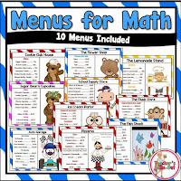 Menus for Math