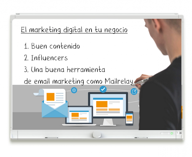 El marketing digital en tu negocio con Mailrelay