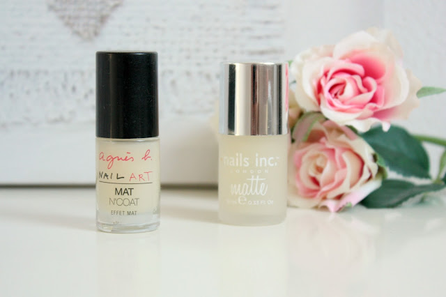 top coat agnès b et nail inc