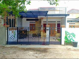 Desain rumah depan minimalis modern etnik Bali