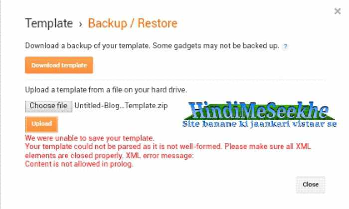 Blogger-we-ware-unable-to-save-your-template