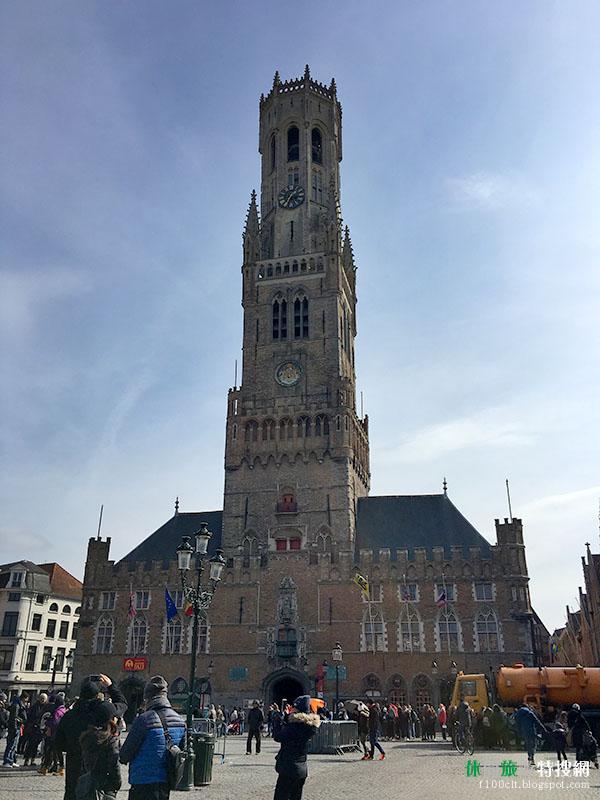 [比利時.布魯日] 布魯日鐘樓Brugge Belfort:中世紀鐘樓 為布魯日最高的建築 可登階俯瞰市區