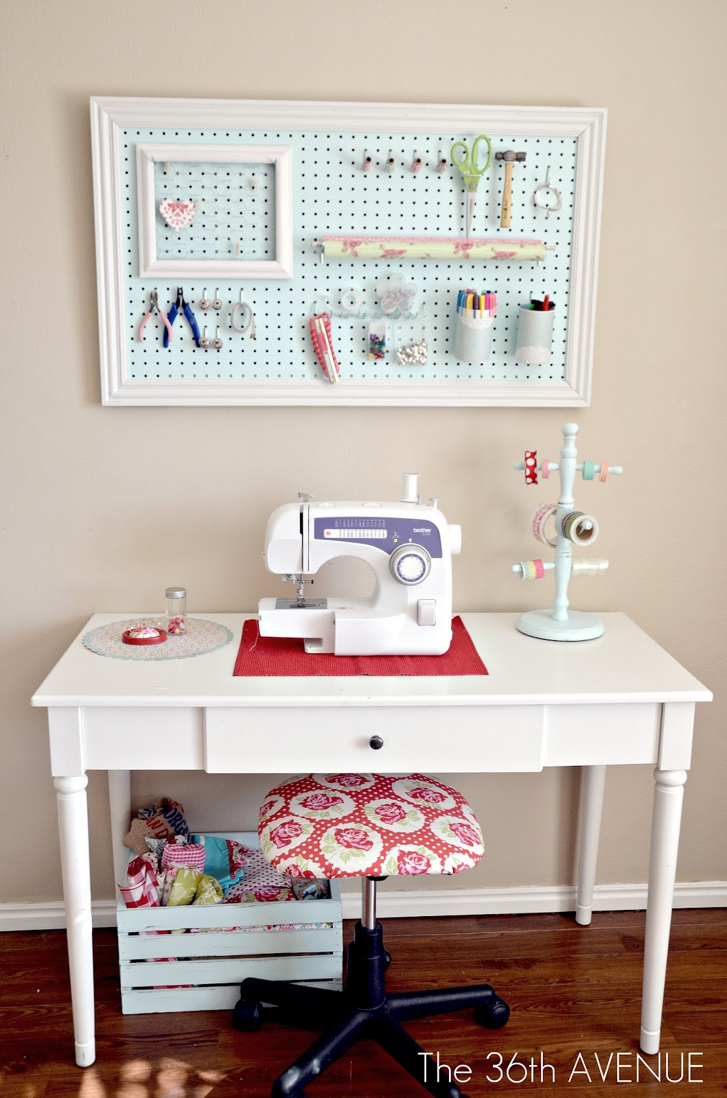 My Craft Room Tour The 36th Avenue