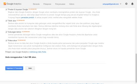 Pasang Google Analytics di website