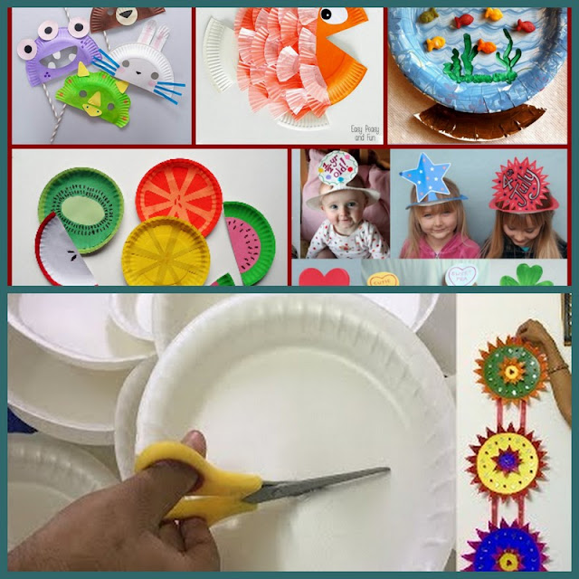 Do it yourself crafts hope you all are doing amazing today todays blog is a blast from my past using paper plates to make these really adorable wall hangings solutioingenieria Gallery