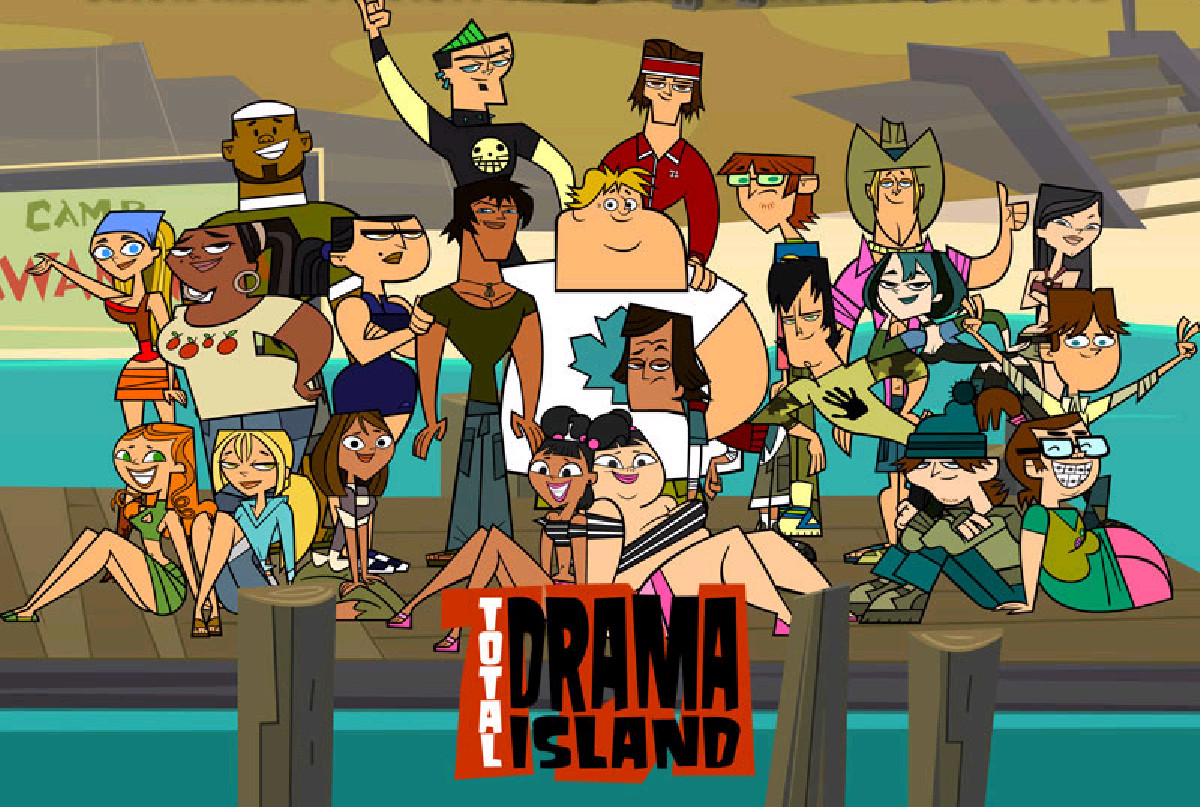 friki100 total drama island serie de culto. Black Bedroom Furniture Sets. Home Design Ideas