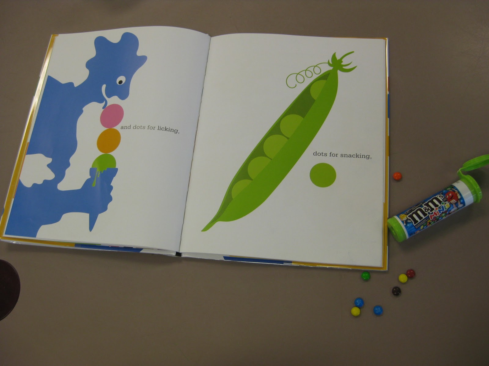 Polka Dots Books And Jello Edible Math For Preschoolers
