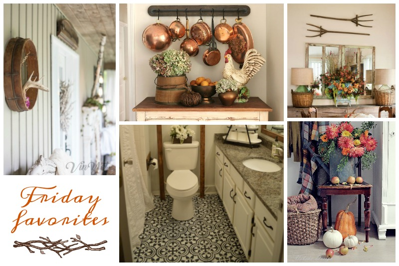 Favorite fall decor and home improvement ideas