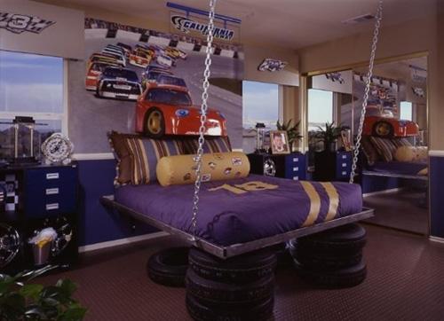 Divertidos dormitorios para ni os ideas para decorar for Dormitorios infantiles nino