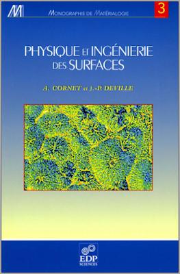 Télécharger Livre Gratuit Physique et ingéniérie des surfaces pdf