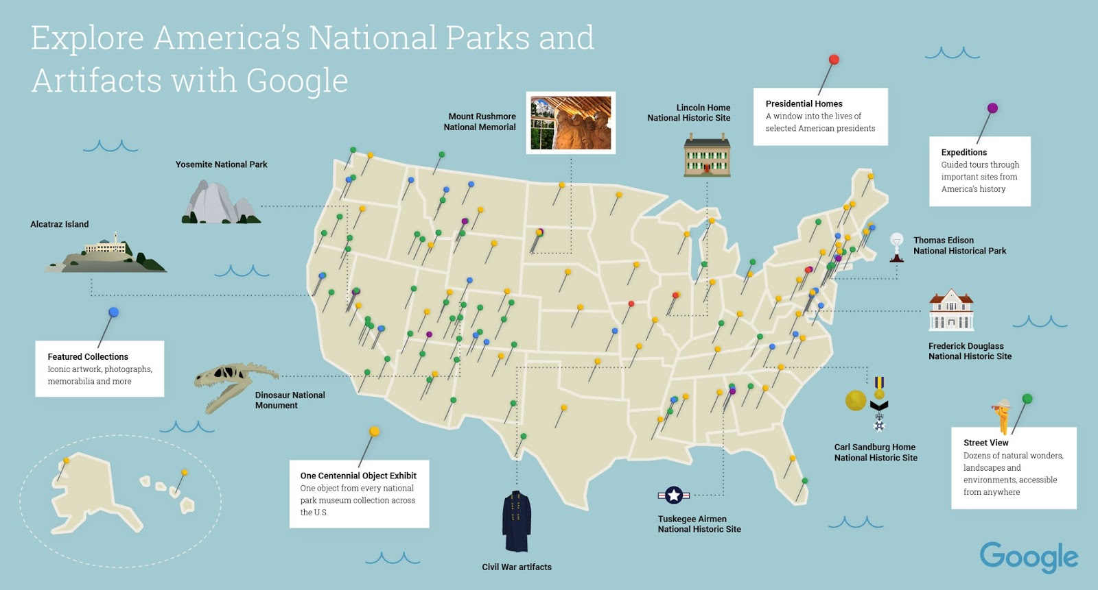 Celebrate National Park Week with Street View and the Cultural ...
