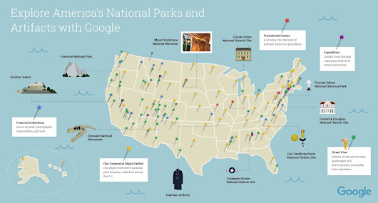 Celebrate National Park Week with Street View and the Cultural Institute